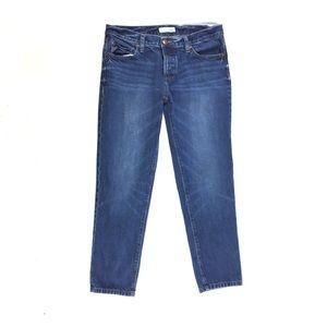 Loft button fly boyfriend jeans size 28